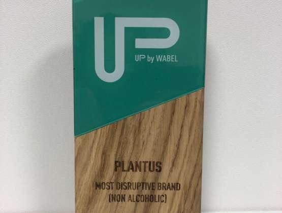 PLANTUS Most Disruptive Brand UP Drinks 2019